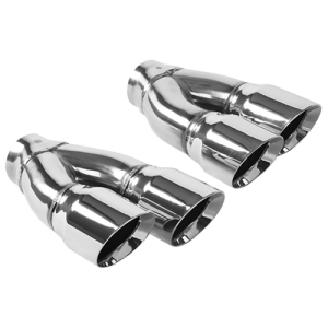 Dual Exhaust Tips form BMW
